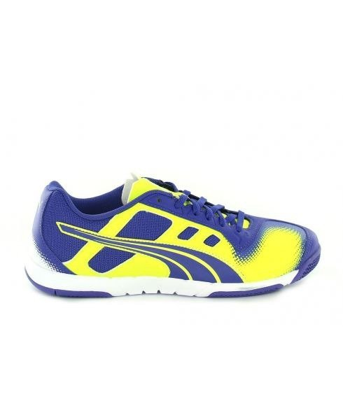 Pas cher Chaussures Salle Puma Speed Cell Violet Hommes