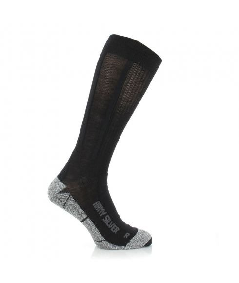 Pas cher Chaussettes X-Socks Army Silver Sinofit Vert Mixtes