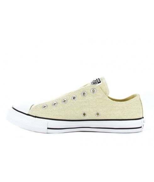 Pas cher Chaussures Loisirs Converse CT AS Slip OX Seashell Beige Mixtes