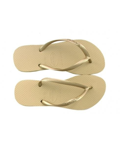 Havaianas SLIM, Sand Grey/Light Golden