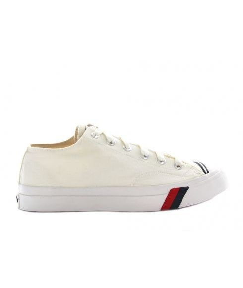 Pas cher Chaussures Loisirs Prokeds Royal Lo Canvas Blanc Hommes
