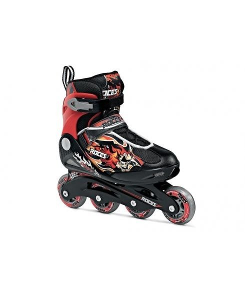 Pas cher Rollers Roces Compy 5.0 Boy