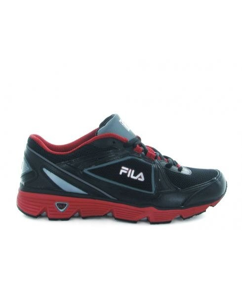 chaussures running fila dls noir mixtes pas cher. Black Bedroom Furniture Sets. Home Design Ideas
