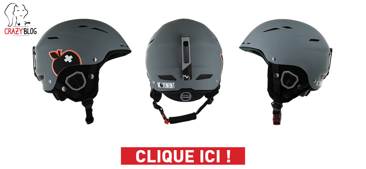 casque de ski movement