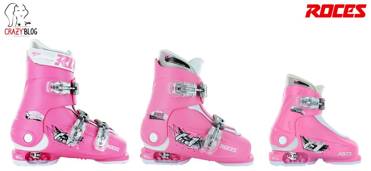 chaussure ski roces rose crazyprices